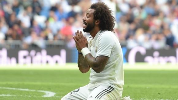 Вторият капитан на Реал Мадрид Марсело не скри огорчението си