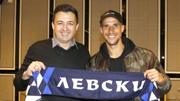 Френският полузащитник на Левски Габриел Обертан преподписа своя договор с
