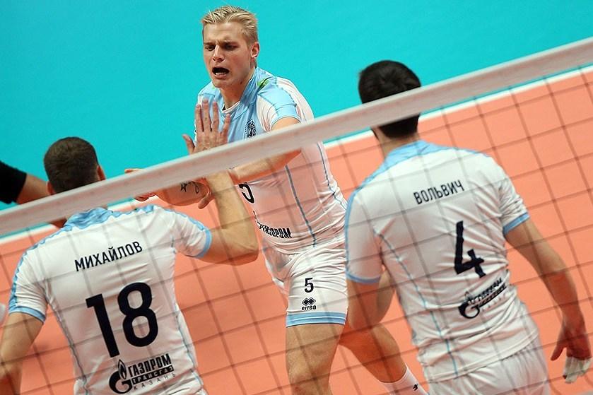 Шампионът на Русия, Европа и света Зенит (Казан) изигра един