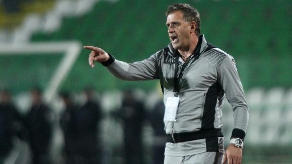 Старши треньорът на Локомотив (Пловдив) Бруно Акрапович изрази съжаланието си