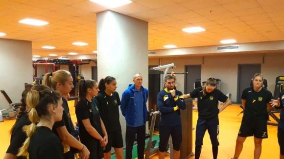 Женският волейболен отбор на Марица Пловдив пристигна в Турция след