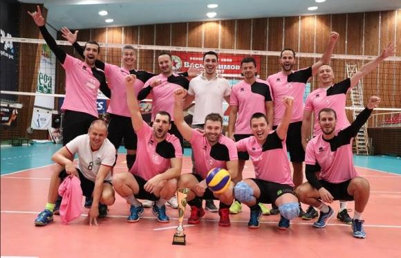 Отборът на Легендите триумфира със Суперкупата в Любителската волейболна лига