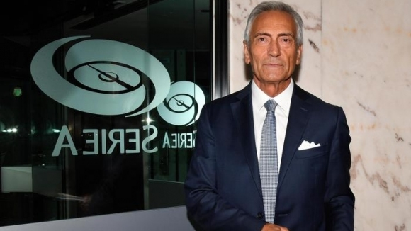 Габриеле Гравина беше избран за президент на италианската футболна федерация.