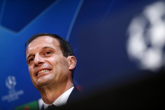 Треньорът на Ювентус Масимилиано Алегри очаква доста труден мач срещу