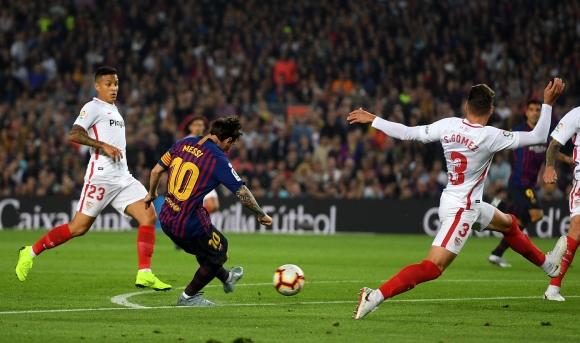 След поредицата от слаби резултати тимът на Барселона надигна глава
