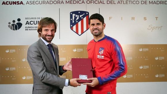 Старши треньорът на Атлетико Мадрид Диего Симеоне ще може да