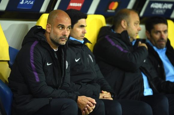 Мениджърът на Манчестър Сити Джосеп Гуардиола остана доволен след разгромната
