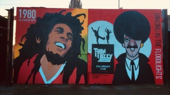 Ликът на покойната ямайска реге легенда Боб Марли ще грейне