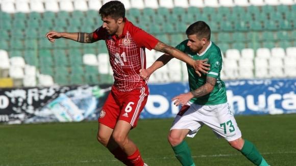 Халфът на ЦСКА-София Рубен Пинто обяви след равенството (1:1) с