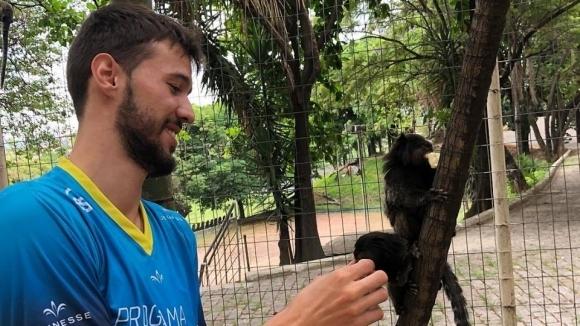 Освен волейбола, националът Розалин Пенчев има още една страст и