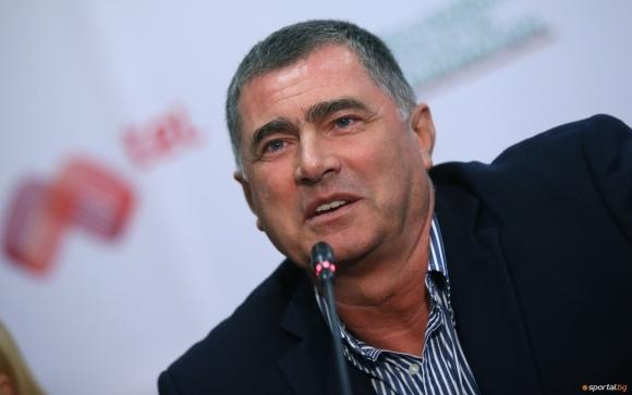 Първият вицепрезидент на Европейската атлетика Добромир Карамаринов ръководи в комплекса