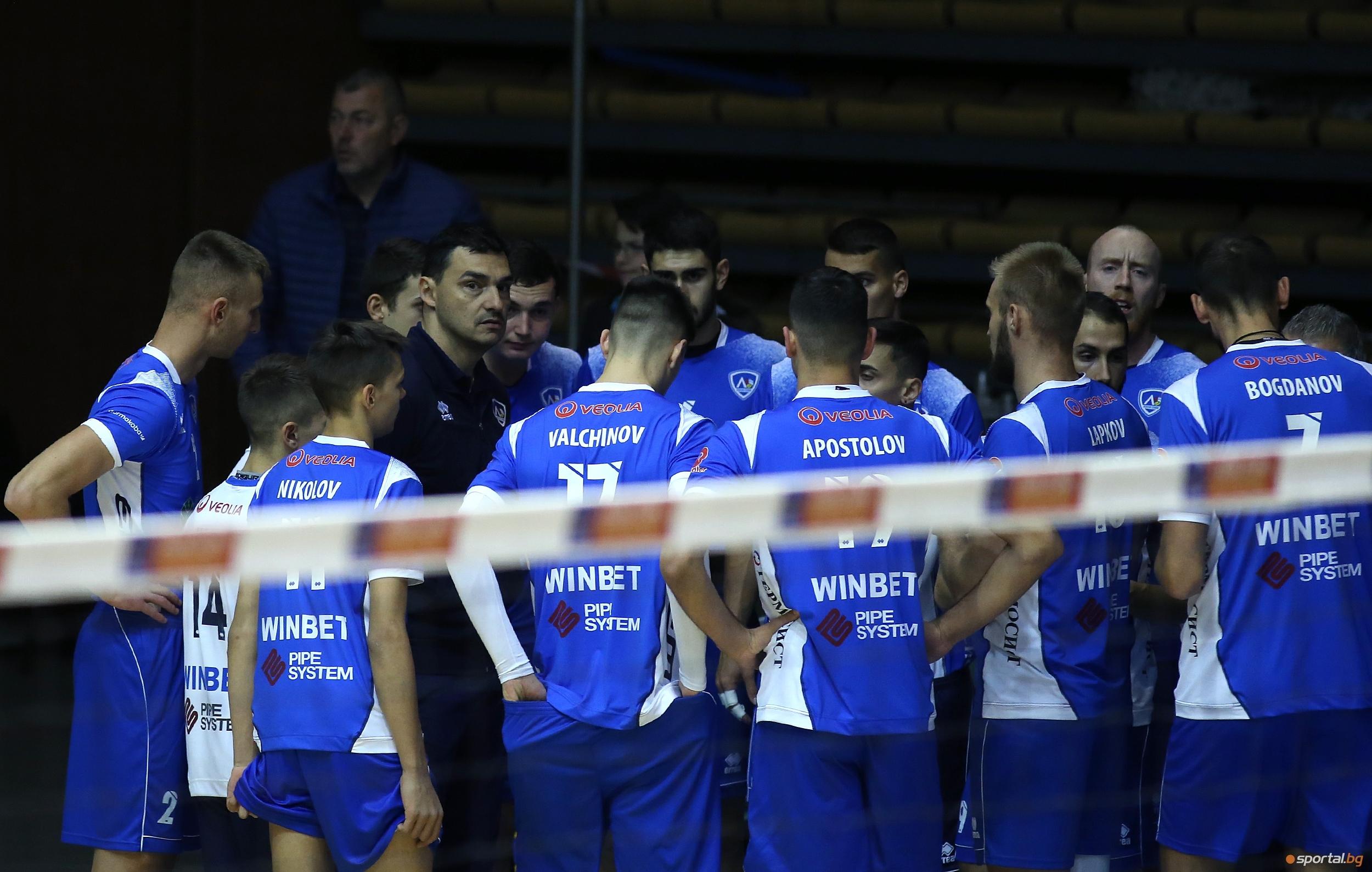 Волейболистите на Левски София приемат Черно море (Варна) в столичната