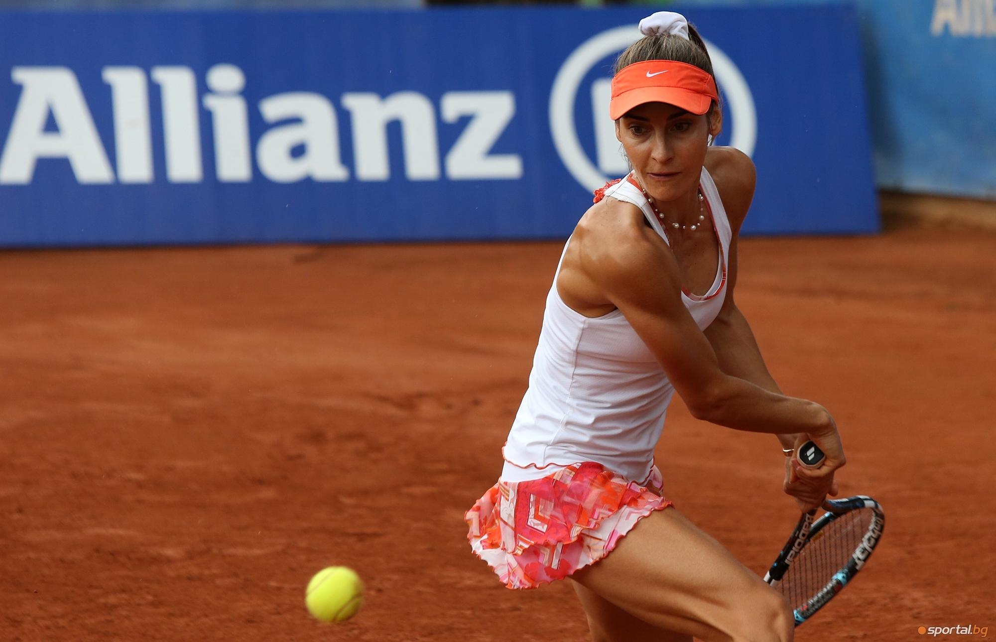 Диа Евтимова се класира за финала на двойки на турнира