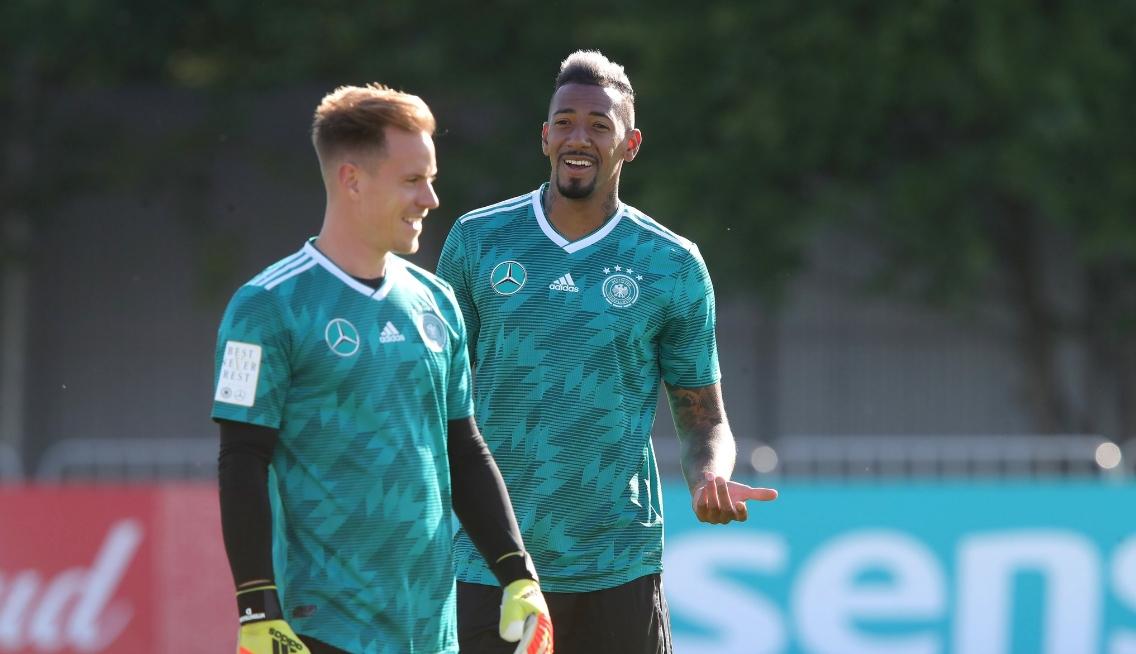 Основният защитник на германския национален отбор Жером Боатенг не попадна
