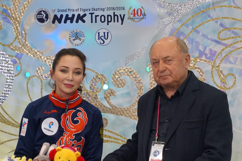 Световната и европейска шампионка за 2015 година Елисавета Туктамишева от