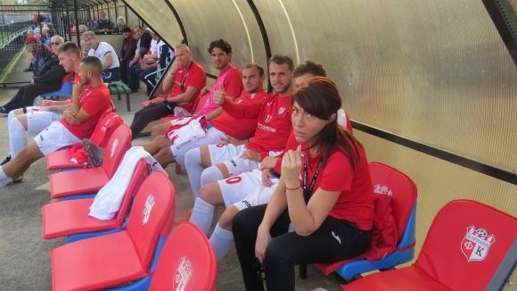 Защитникът на Кариана (Ерден) Ангел Бастунов поднови тренировки през седмицата