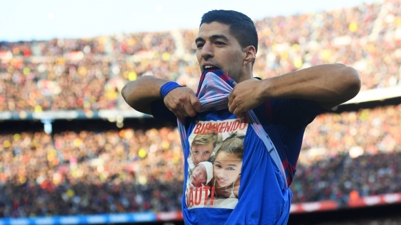 Нападателят на Барселона Луис Суарес взе наградата за най-добър футболист