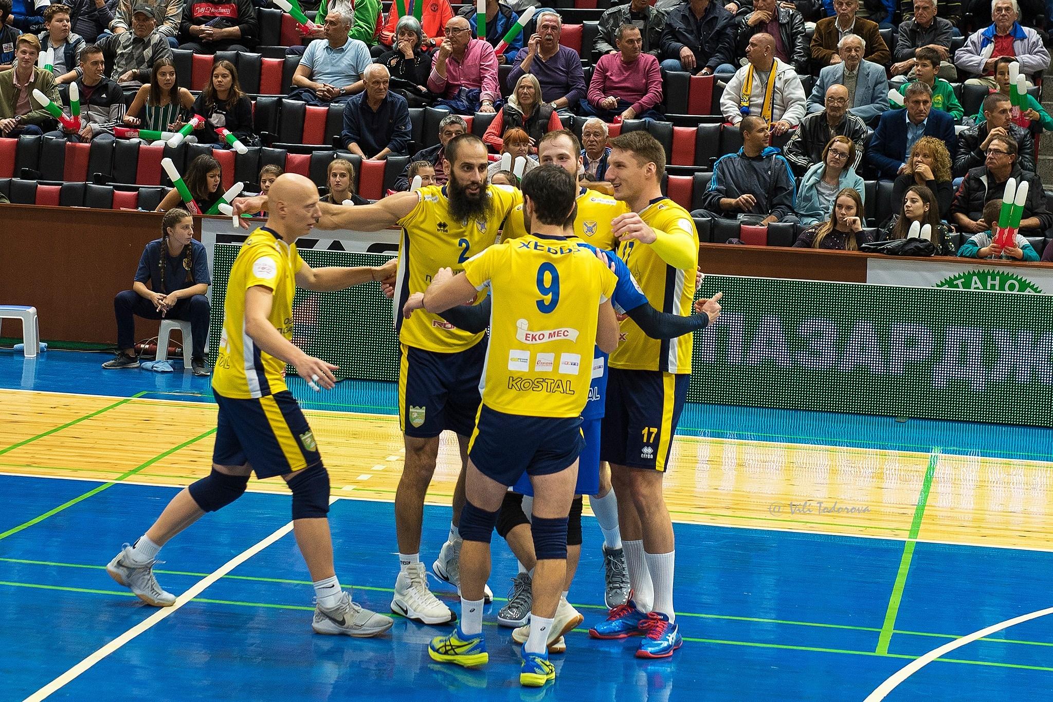 Волейболистите на Хебър (Пазарджик) останаха непобедени в Суперлигата на България,