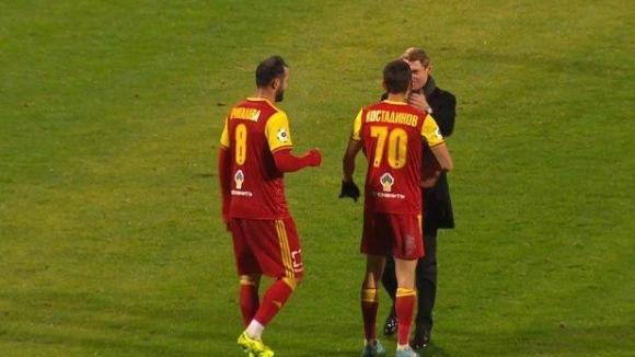 Българският национал Георги Костадинов игра цял мач за Арсенал (Тула)