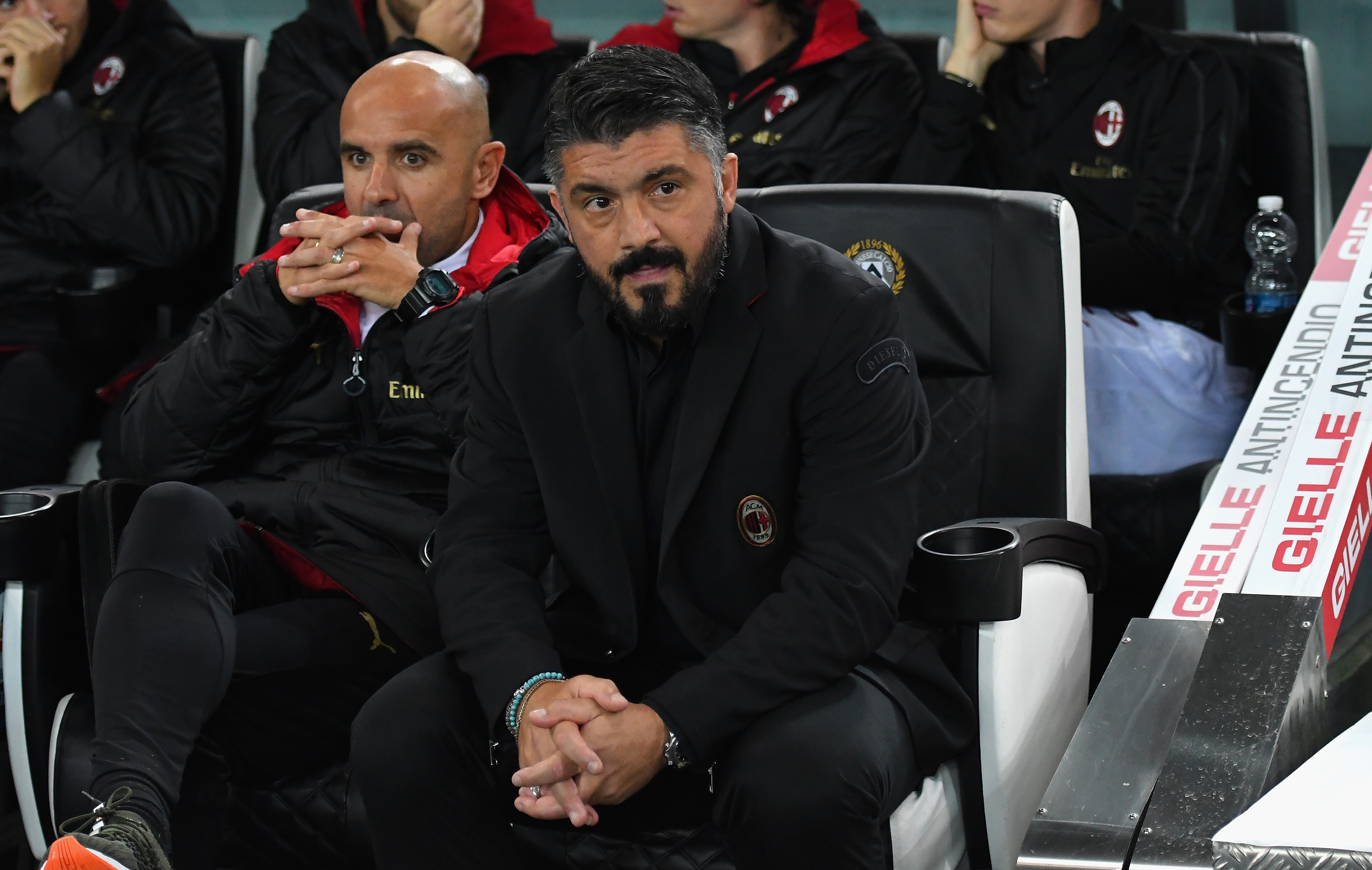 Треньорът на Милан Дженаро Гатузо е настроен войнствено преди дербито