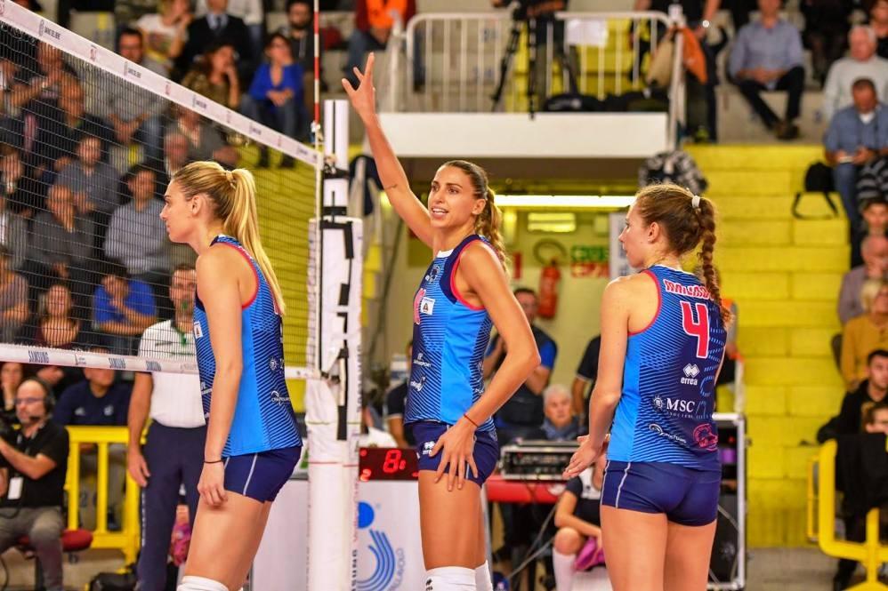 Звездата на женския ни национален волейболен отбор Елица Василева, която