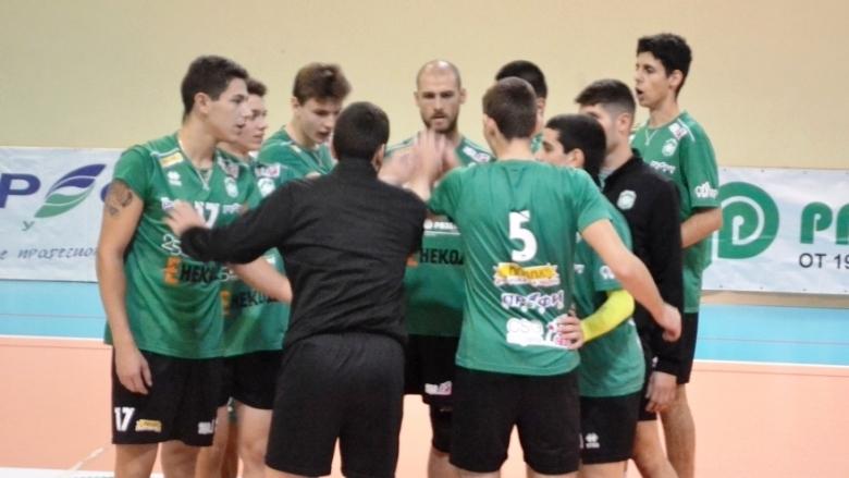 Отборът на Тетевен Волей записа първа победа в Група А