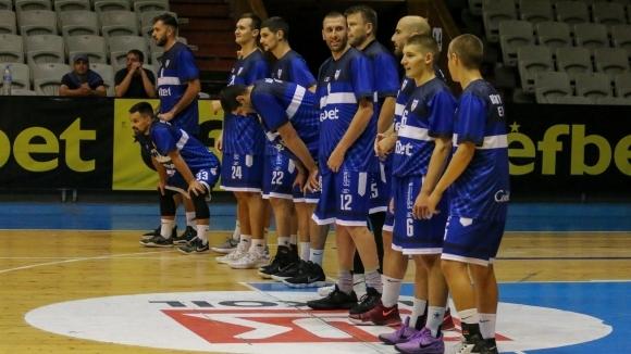 Баскетболистите от мъжкия тим на Спартак Плевен тръгват на посещение