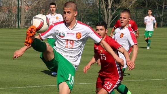 Отборите на България и Румъния завършиха наравно 1:1 в първи