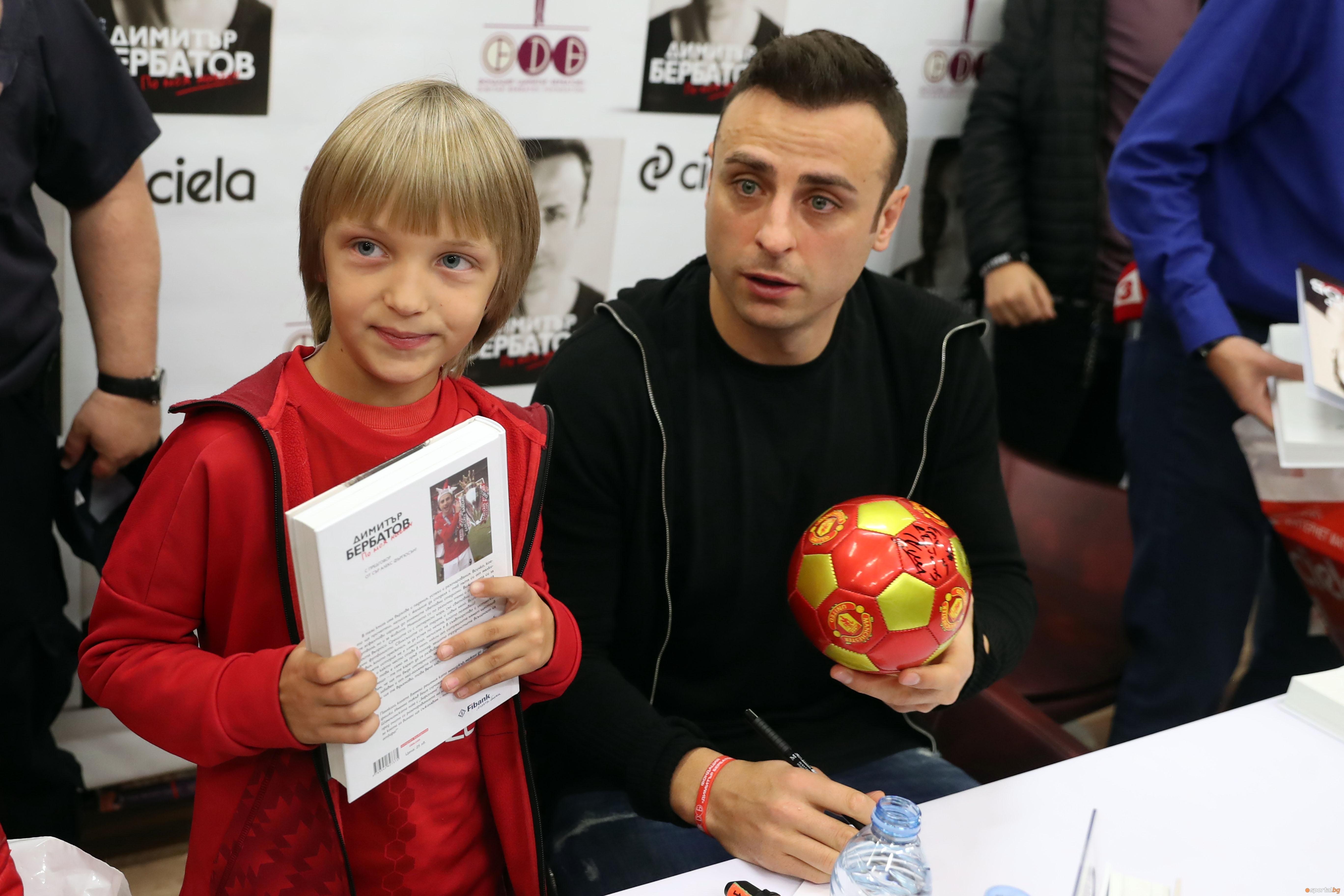 Завръщайки се първо в родния Благоевград, най-талантливият български футболист, постигнал