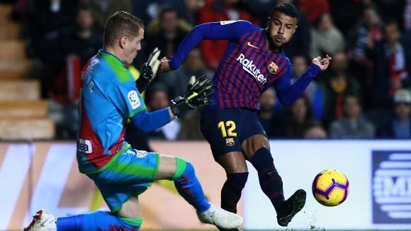 Полузащитникът на Барселона Рафиня Алкантара изрази задоволството си от получената