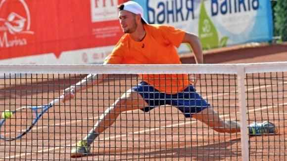Българинът Габриел Донев се класира за четвъртфиналите на сингъл и