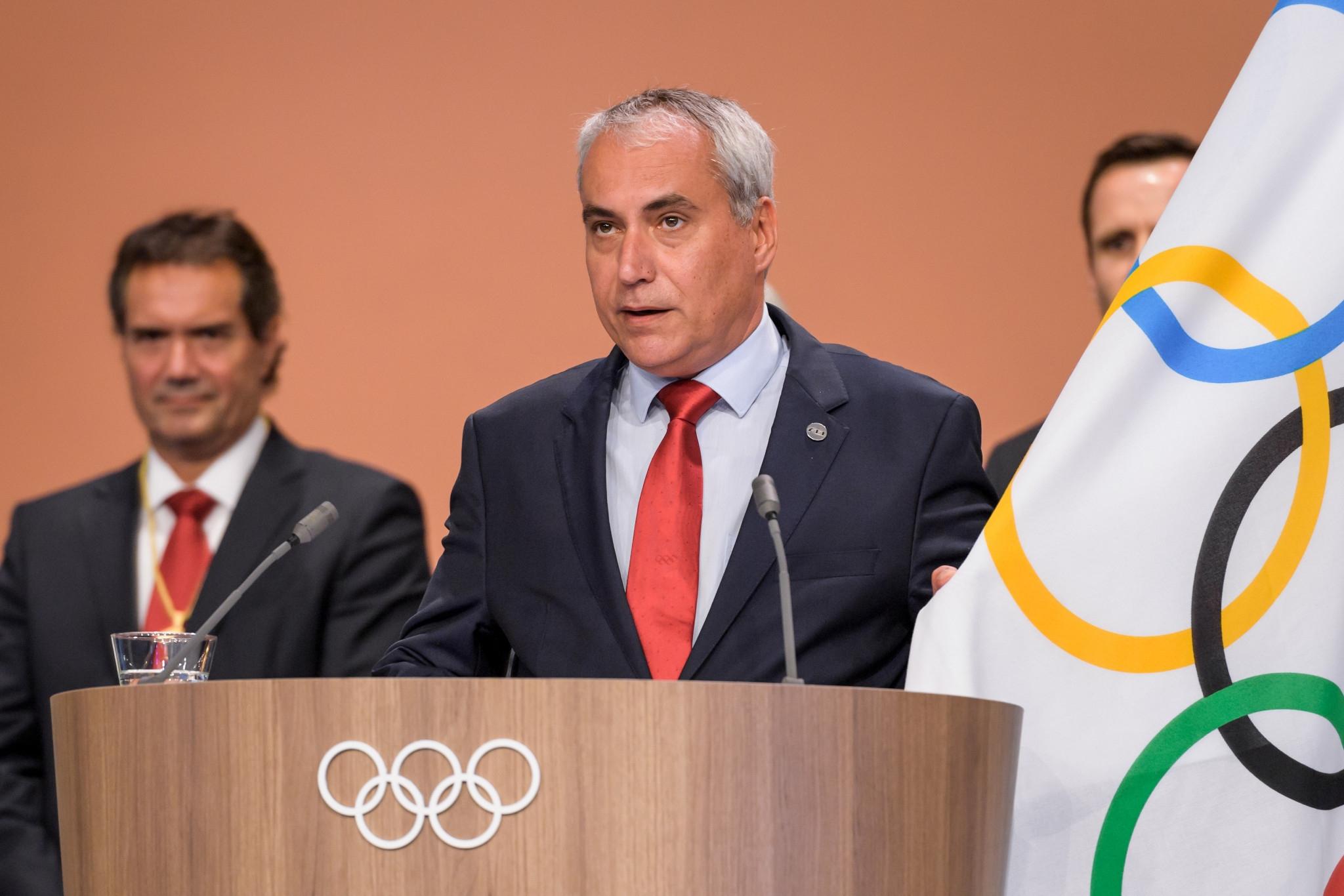 Президентът на Международната федерация по конен спорт Ингмар де Вос