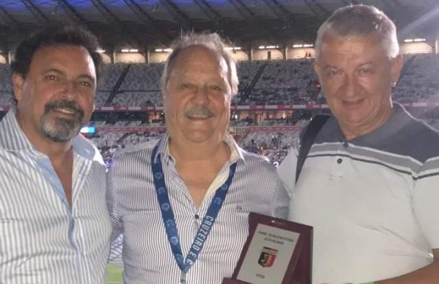 Собственикът на Локомотив (Пловдив) Христо Крушарски донесе късмет на Крузейро