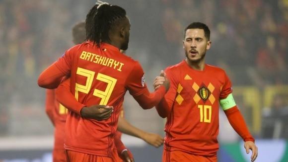 Националният отбор на Белгия постигна трети успех в турнира Лигата