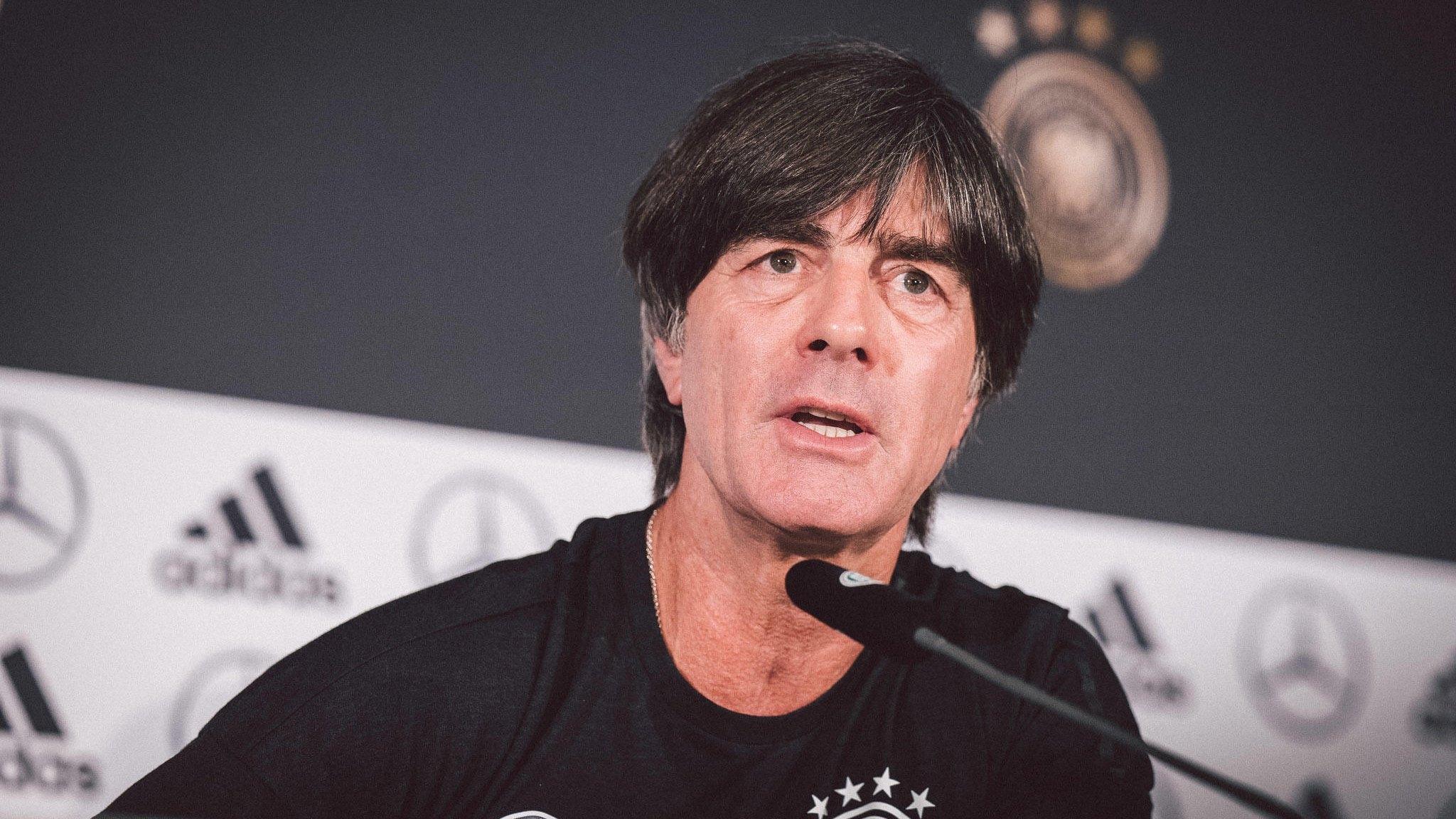 Селекционерът на Германия Йоахим Льов остана доволен след победата над