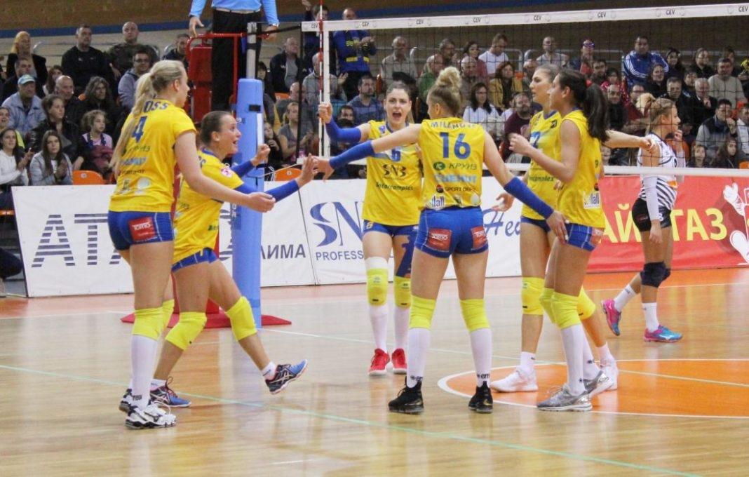 Женският волейболен шампион на България Марица (Пловдив) гостува на Берое