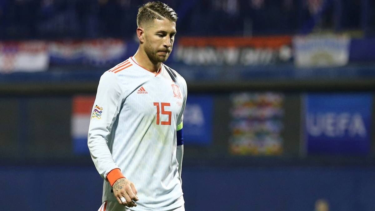 Защитникът на испанския национален отбор и Реал Мадрид Серхио Рамос