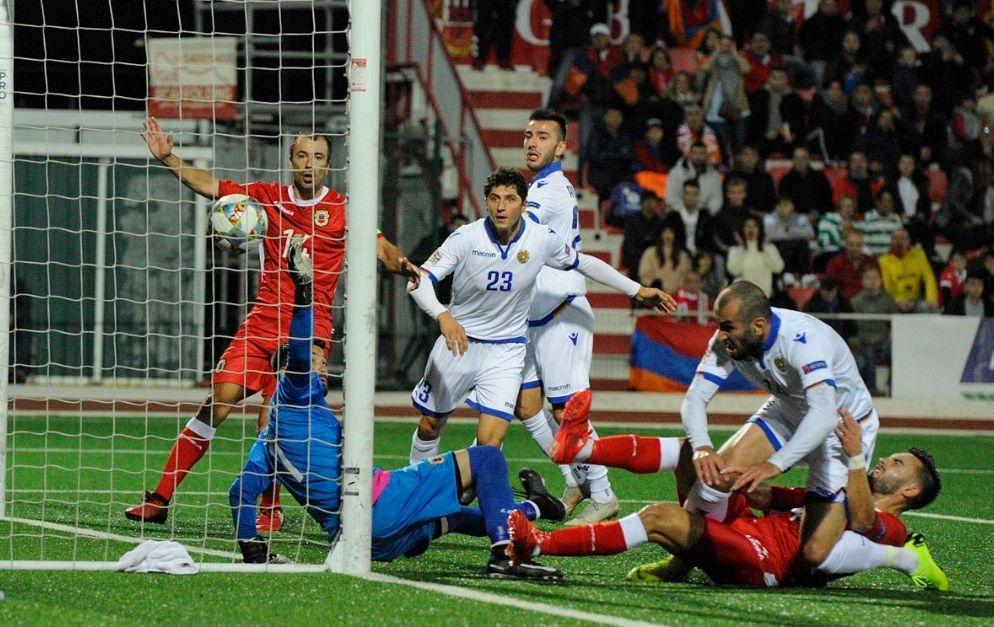 Националният отбор на Армения постигна важна победа с 6:2 като