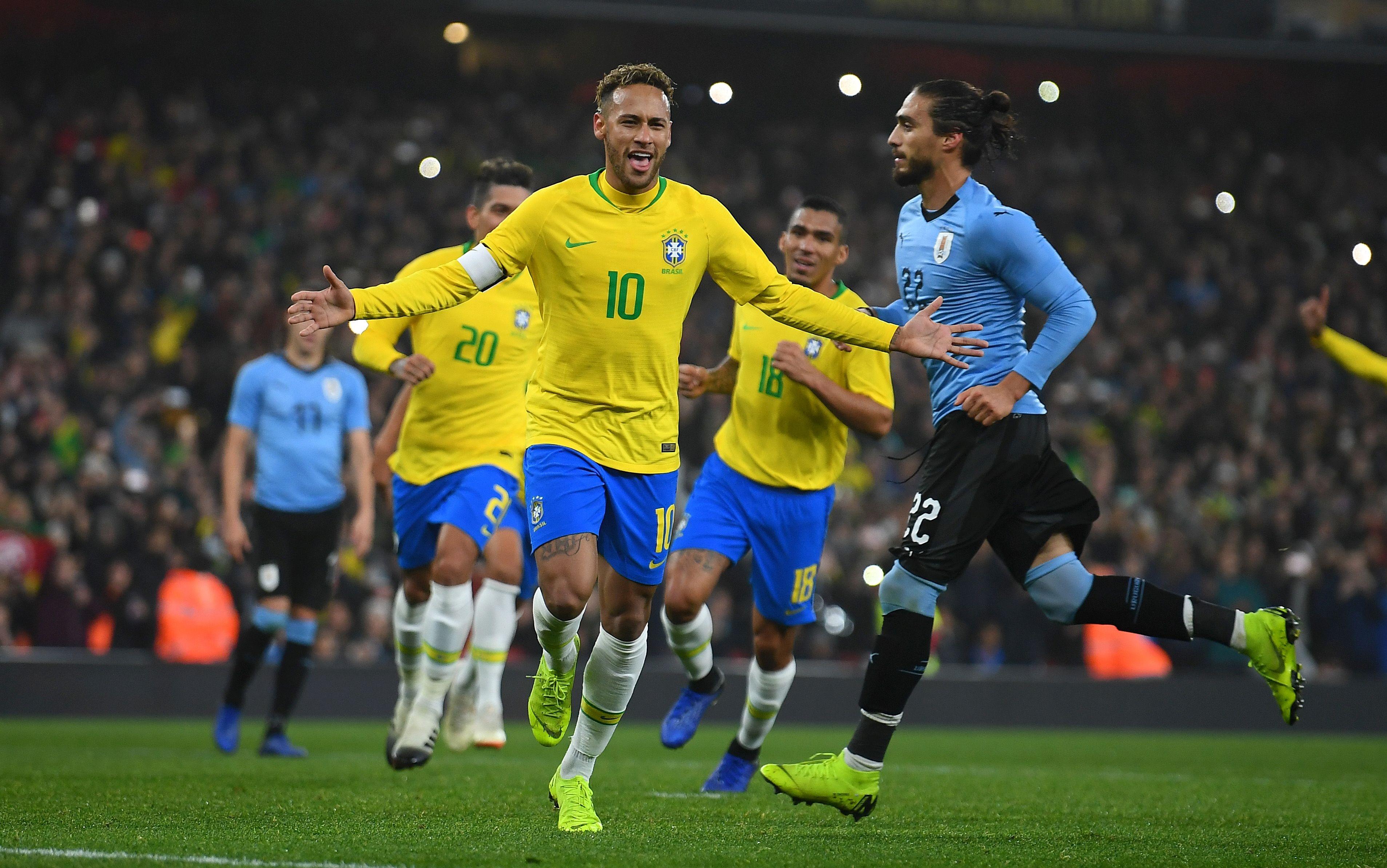 Бразилия победи Уругвай с 1:0 в контролна среща между двата