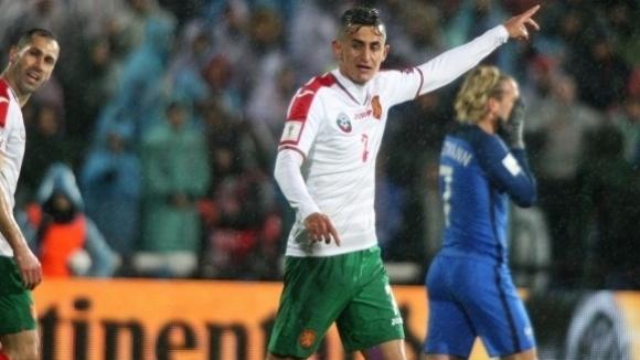 Халфът на България Георги Костадинов обяви, че равенството (1:1) при