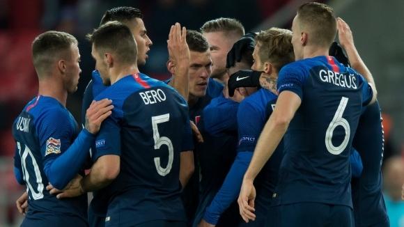 Отборът на Словакия записа първа победа в турнира Лигата на