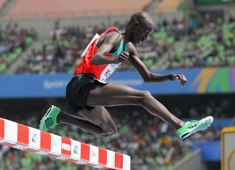 Носителят на олимпийска титла в бягането на 3000 метра стийпълчейз