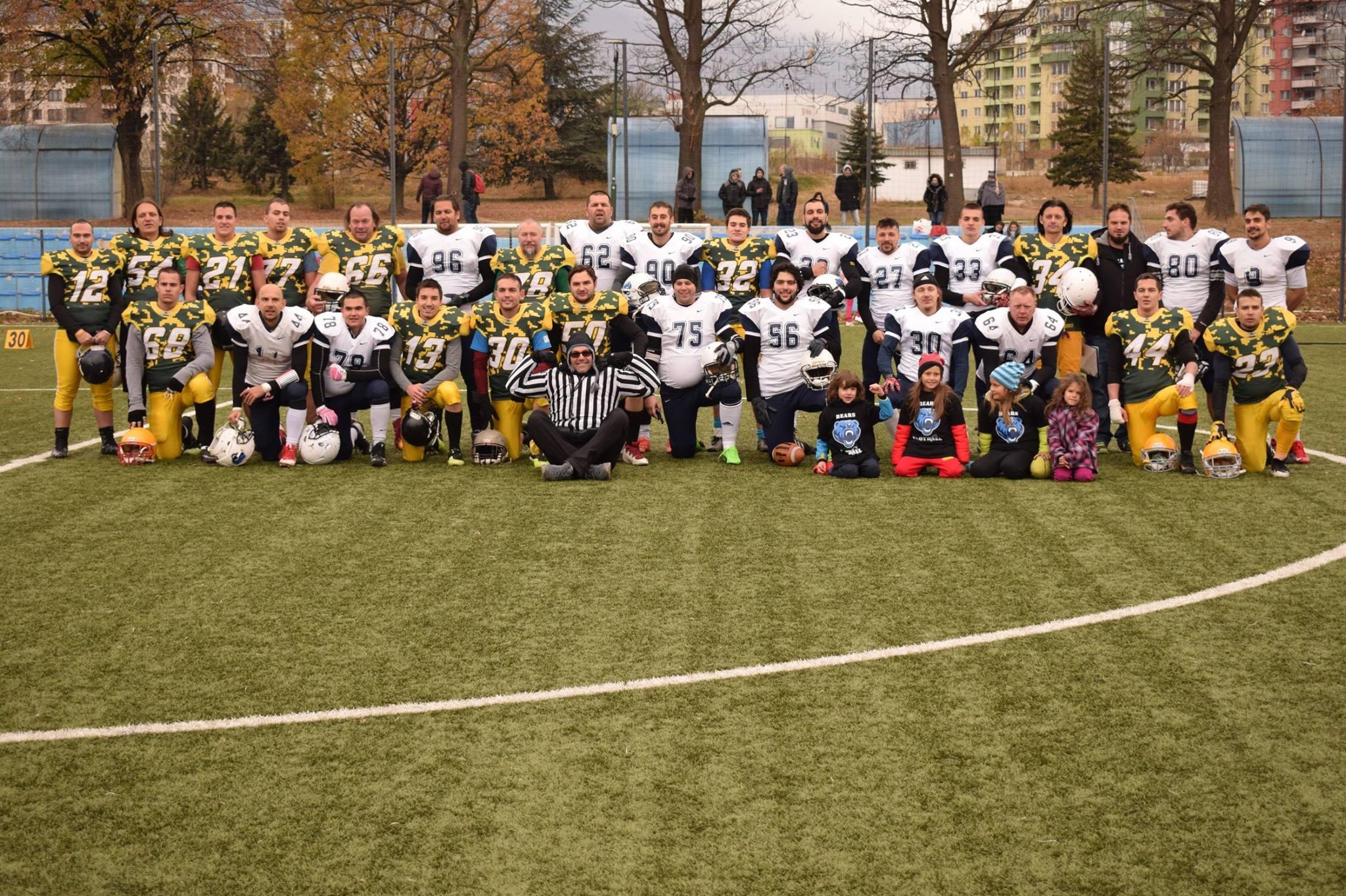 Софийските мечки спечелиха първата титла на България по американски футбол