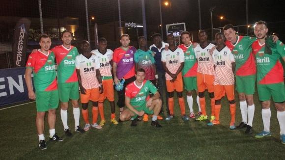 Българският национален отбор по футбол 5 записа две победи и