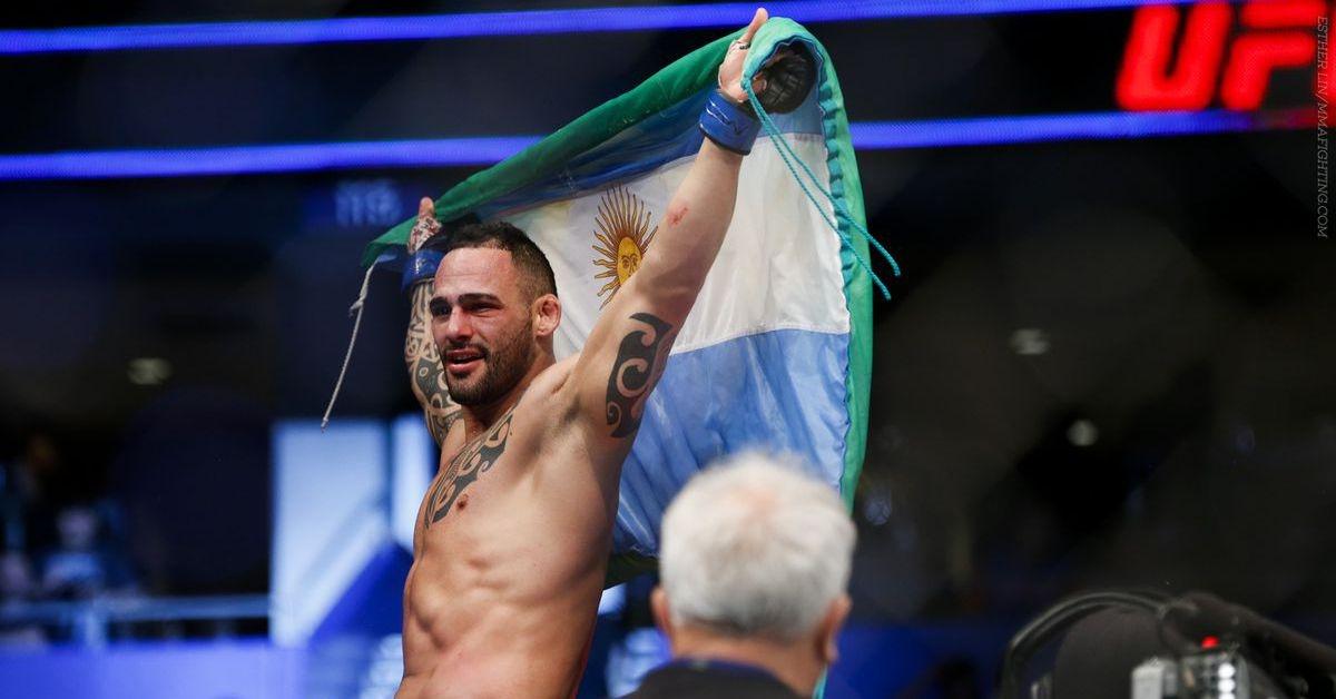 Сантяго Понцинибио (Арж) спечели седми пореден мач в UFC, след