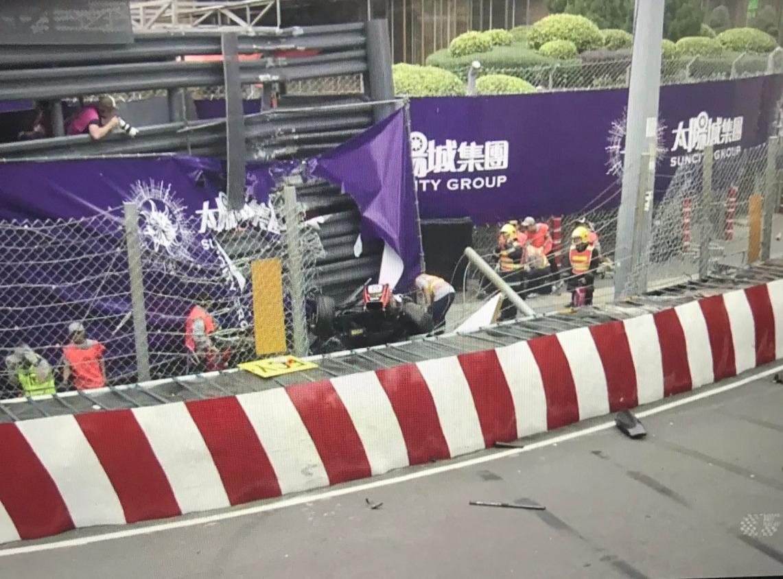 Организаторите на Macau GP разкриха, че 17-годишното момиче, което претърпя