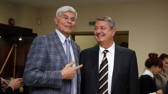 Димитър Златанов е единственият български волейболист, приет в Залата на