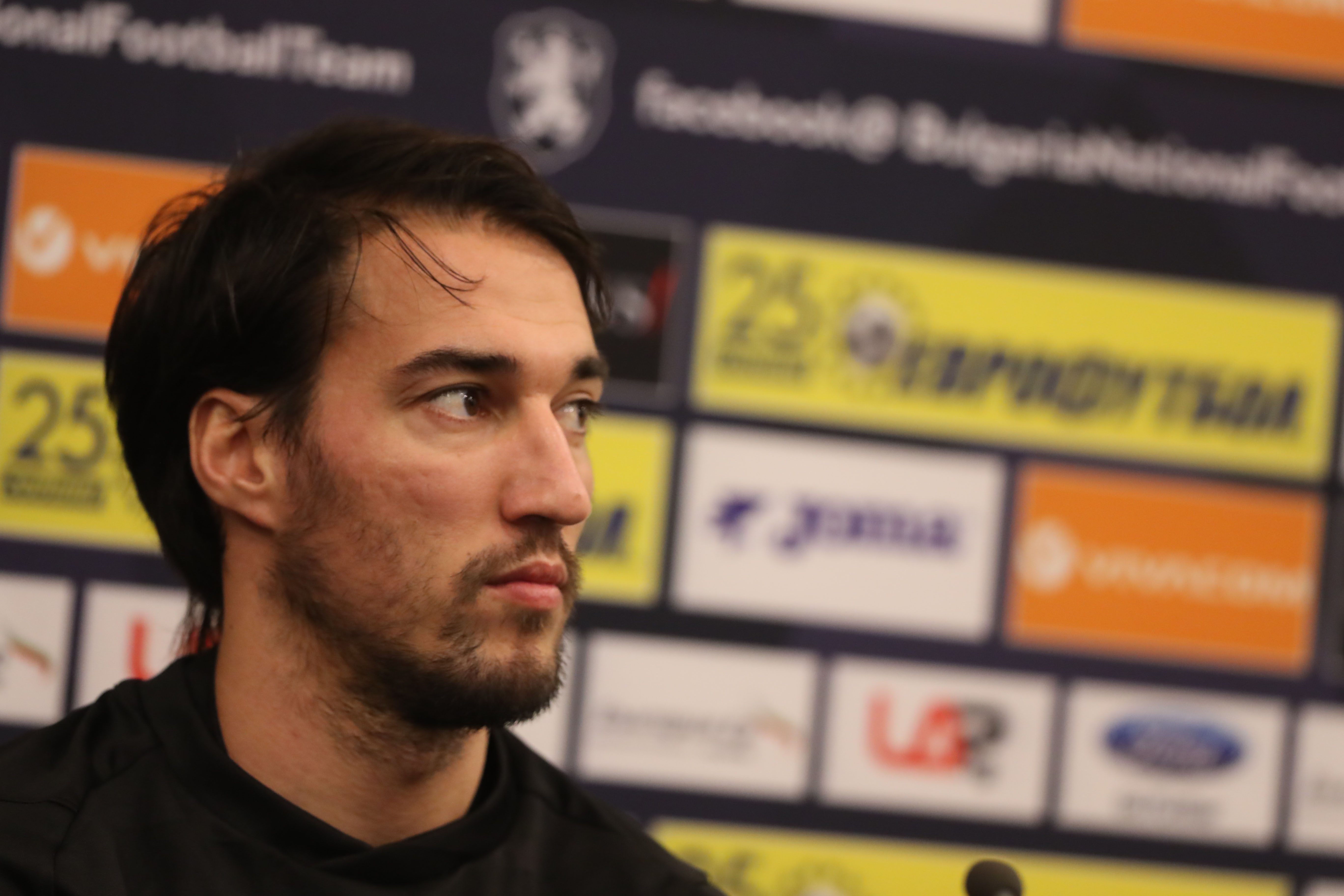 Капитанът на България Ивелин Попов говори преди утрешния мач със