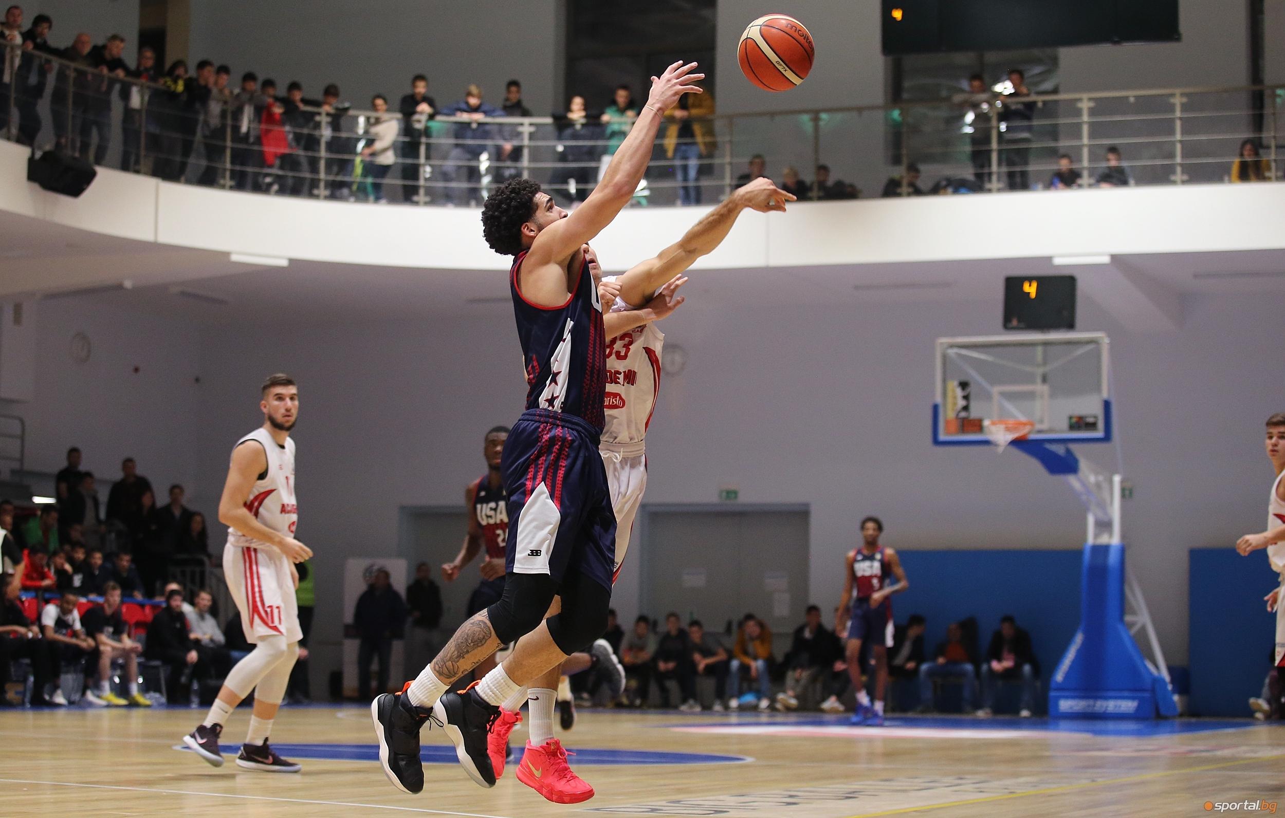 Сборен отбор от най-талантливите български баскетболисти от набор 2000 и