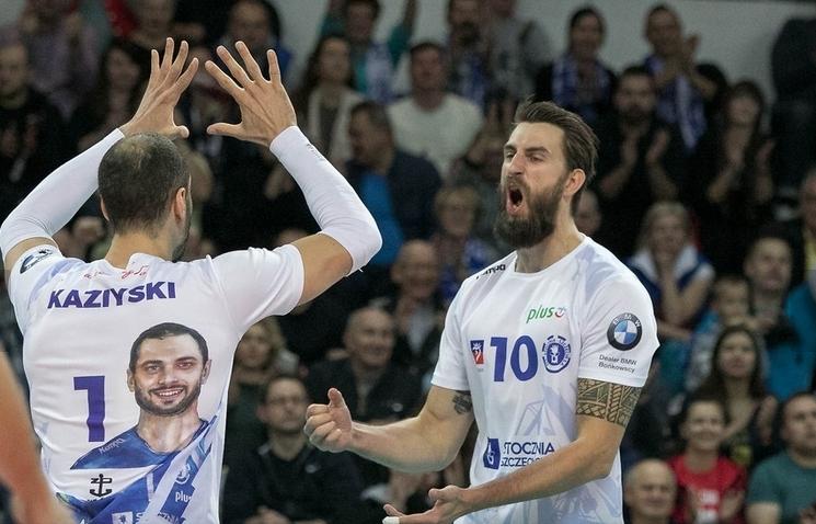 Българският волейболист Матей Казийски и неговият Сточния (Шчечин) записаха 5-и